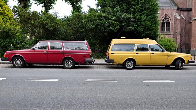 1980 & 1978 Volvo 245 DL