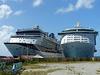 Cruise Ships at St. Maarten (9) - 30 January 2014