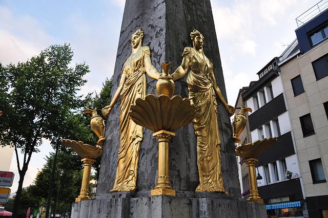 Fountain in Aachen, Germany
