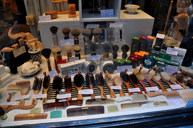 Brush and Bristle shop in Aachen, Germany