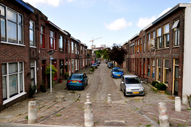 Groenoordstraat (Green Place Street) in Leiden