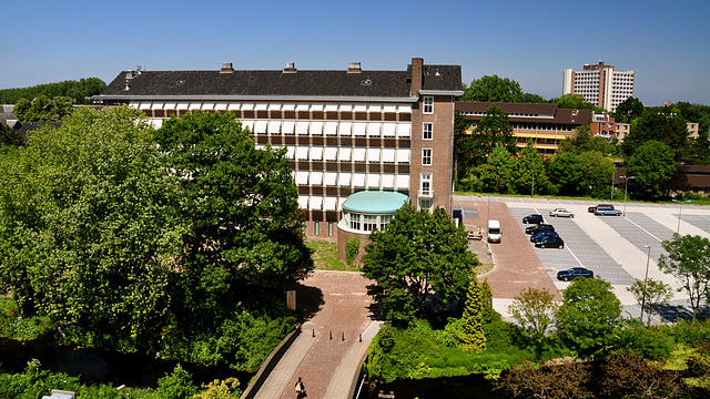 My office – The former Physiology Lab of Leiden University