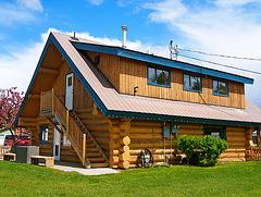 Tourist Info 100 Mile House, BC