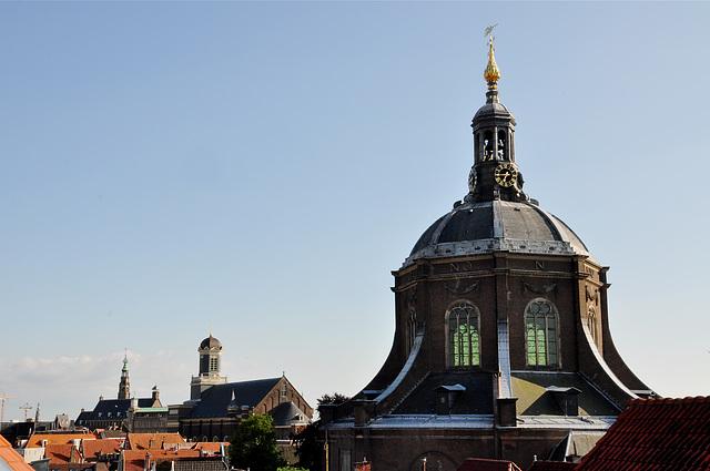 Stadhuis – Hartebrugkerk – Marekerk