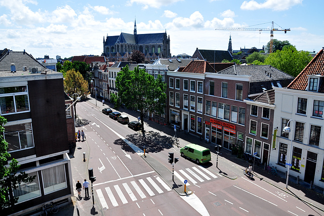 View of the Hooigracht