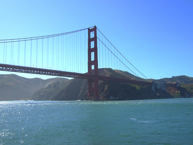 Bridge, Marin Headlands Side