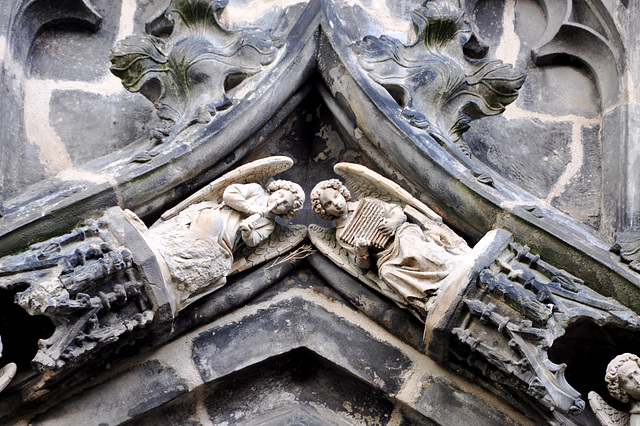 Aachen cathedral – angels