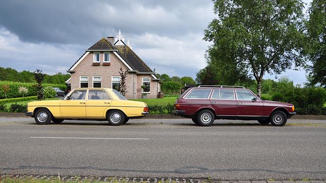Mercedes-Benz W115 & W123