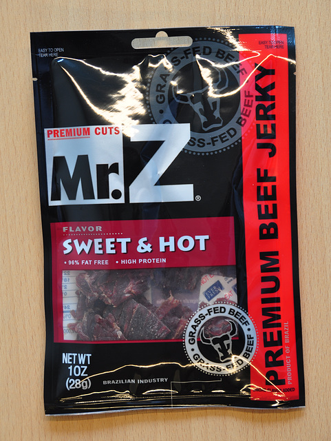 Beef jerky of Mr. Z