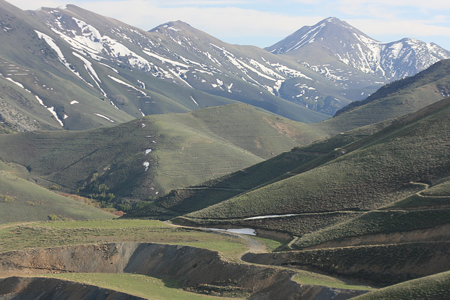 Toiyabe Range, Nevada, USA.