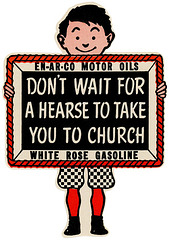 Don't Wait for a Hearse to Take You to Church