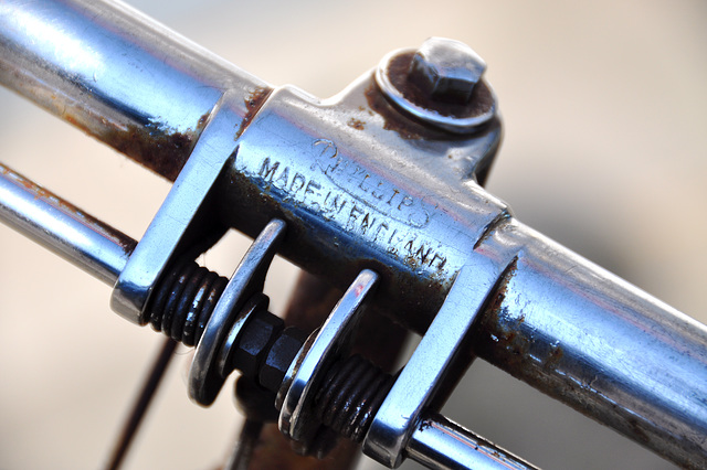 Old Juncker bicycle – Phillips handlebar