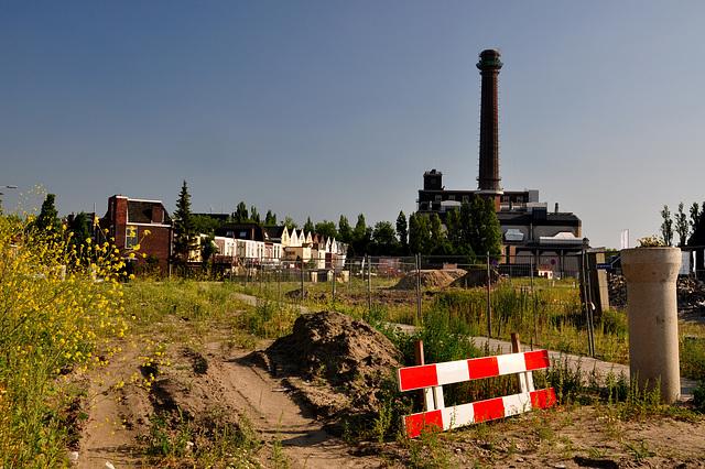 On the edge of a new neighbourhood in Leiden