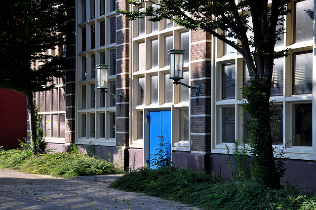 Electricity station in Leiden