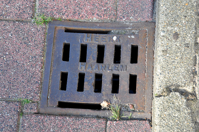Drain cover of Heenk of Haarlem