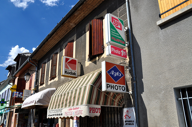 Holiday 2009 – Photo shop in Chorges, France