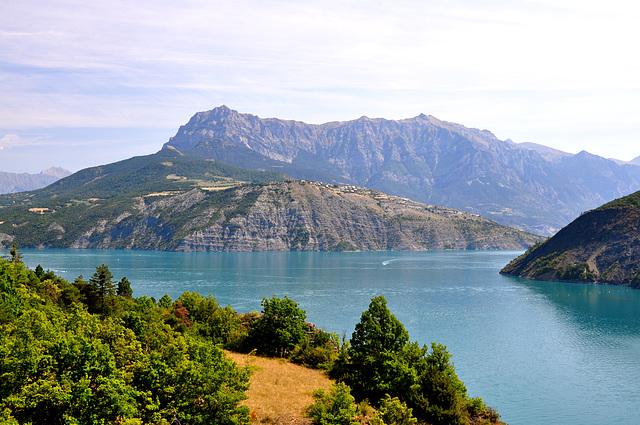 Holiday 2009 – The Serre-Ponçon lake