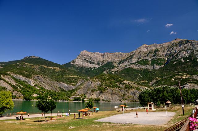 Holiday 2009 – View of the Serre-Ponçon lake
