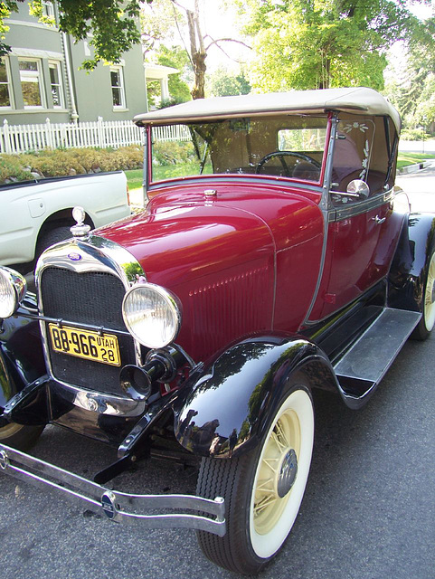 1928 Model-A Ford