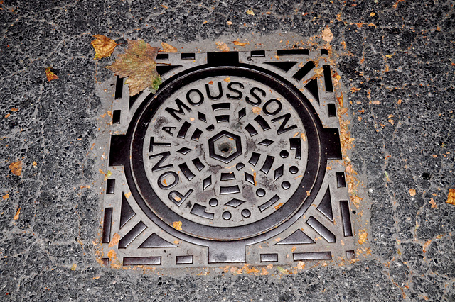 Holiday 2009 – Pont-a-Mousson Manhole cover in Gap, France