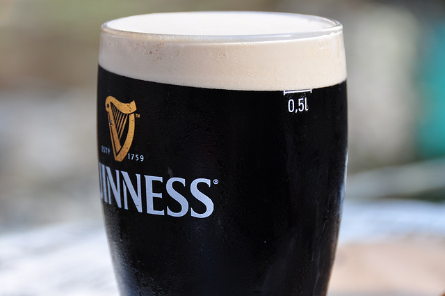 Guinness has gone metric