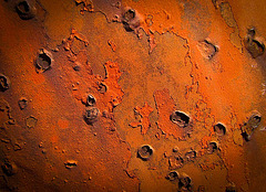Pock-Marked Paint