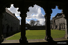 Eire - The Cloisters at Holy Cross Abbey