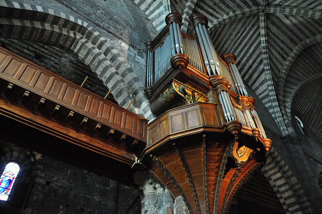 Holiday 2009 – Organ in the cathedral in Embrun, France