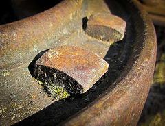 Rusty Bolt in Wheel