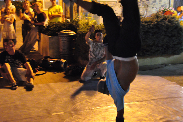 Holiday 2009 – Hip Hop Dancing in Chorges, France