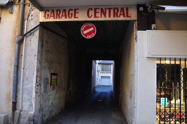 Holiday 2009 – Garage Central in Gap, France