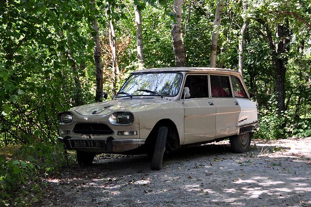 Holiday 2009 – Citroën Ami in de woods