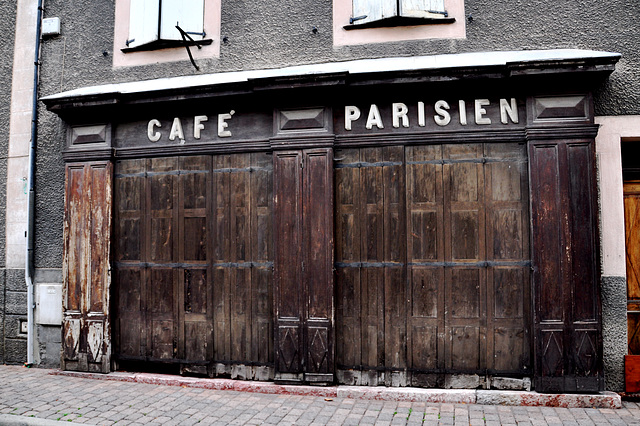 Holiday 2009 – Café Parisien in Chorges, France