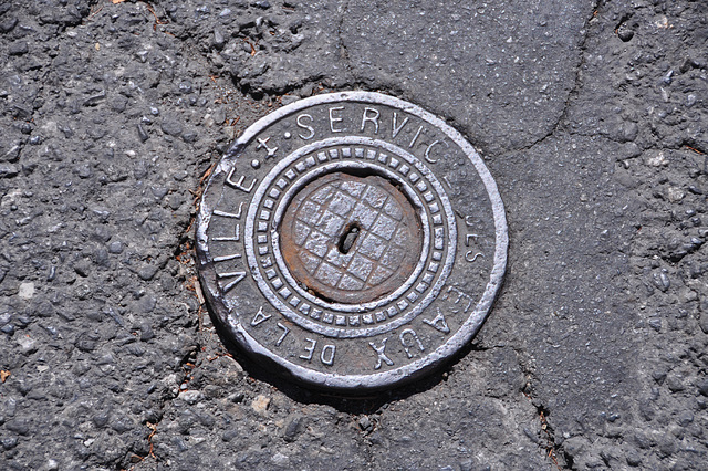 Holiday 2009 – Water access cover in Embrun, France