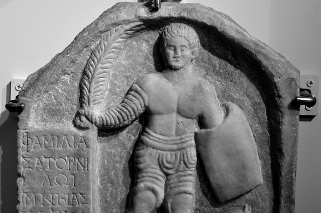 Museum of Antiquities – Grave of gladiator Satornilos