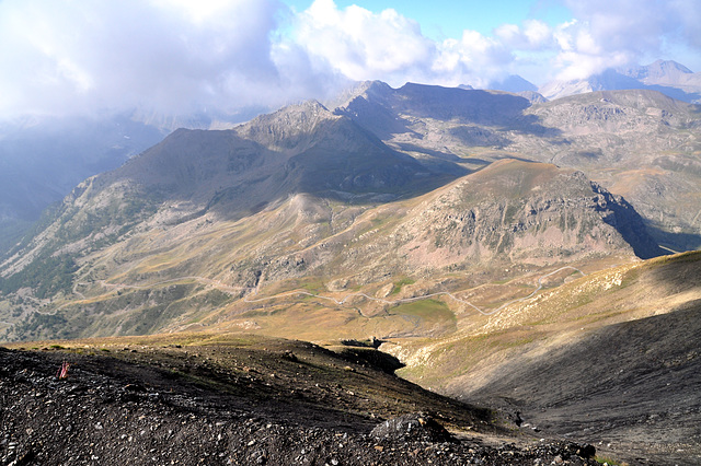 Holiday 2009 – View from the Bonette