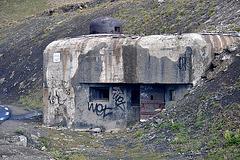 Holiday 2009 – Military bunker on the col de la Bonette