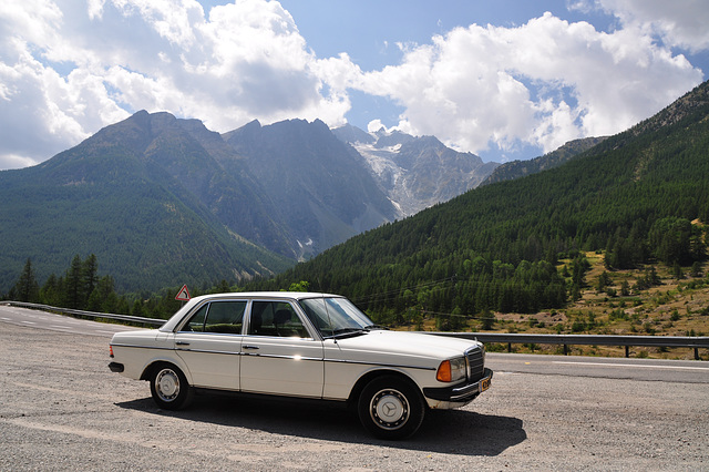 Holiday 2009 – My Mercedes and some Alps