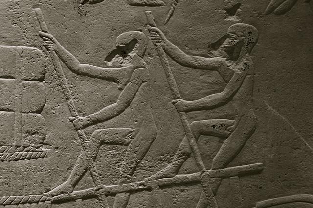 Museum of Antiquities – Funerary chapel of Hetepherakhet – Rowing