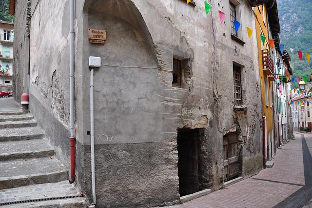 Holiday 2009 – Rue de la Liberté (Freedom Street) in Isola, France