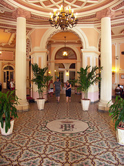 Lobby, Hotel Plaza