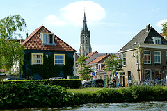 Tower of the New Church in Delft