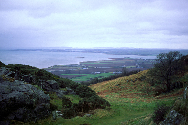 Strangford Lough from Audley's Castle