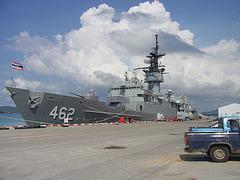 Thai Navy Frigate