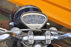 Stoom- en dieseldagen 2012 – Honda C321A moped speedometer