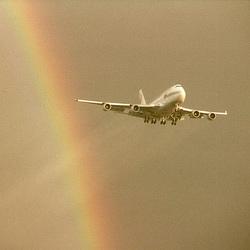 Through the rainbow