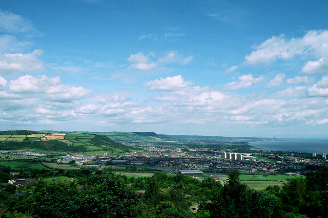Belfast Lough from Cave Hill