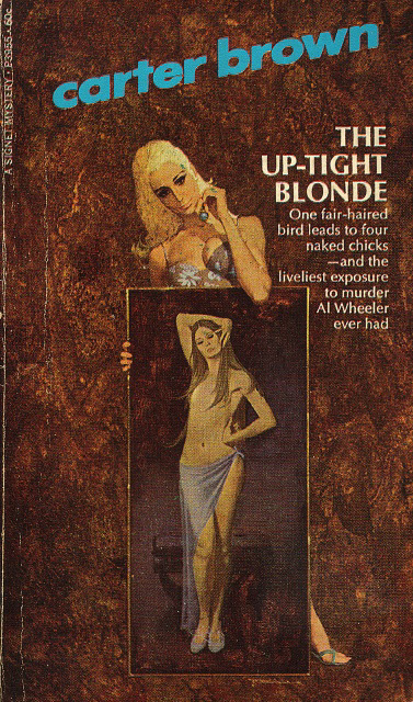 Carter Brown - The Up-Tight Blonde