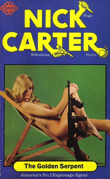 Nick Carter - The Golden Serpent