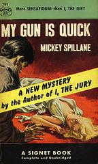 Mickey Spillane - My Gun Is Quick